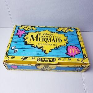 Vtg Little Mermaid McDonald's set
